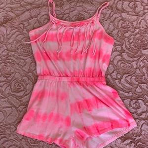 Pink Limited Too Romper